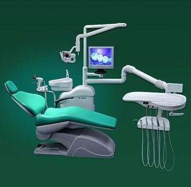 牙齿治疗椅简笔画